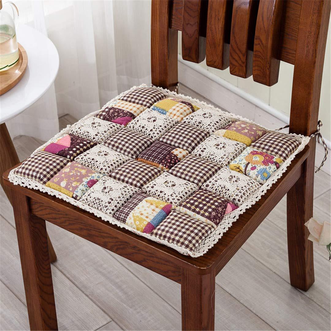 Amazon.com: BFRYTSD Cojines de 9 colores para sillas de ...