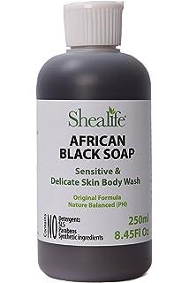 Objective 5 Oz 100% Natural Black Soap Modern Design Health & Beauty