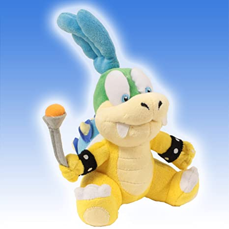 "Super Mario Brothers 6"" Plush Larry Koopa ..."