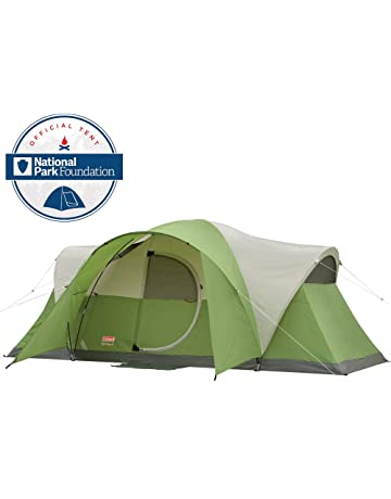 8bcc362b3ef Coleman 8-Person Tent for Camping