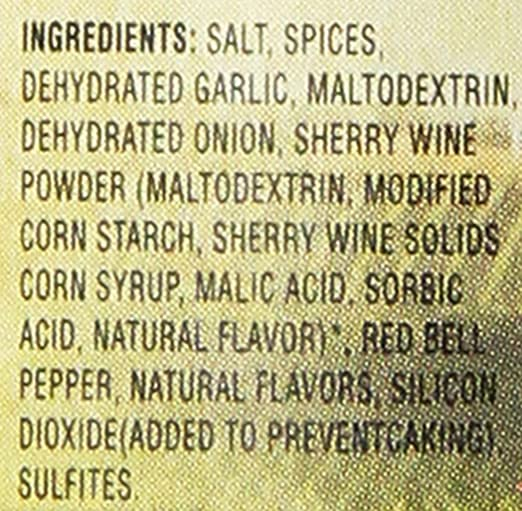 Amazon.com : Olive Garden Garlic & Herb Italian Seasoning 4.5oz ...