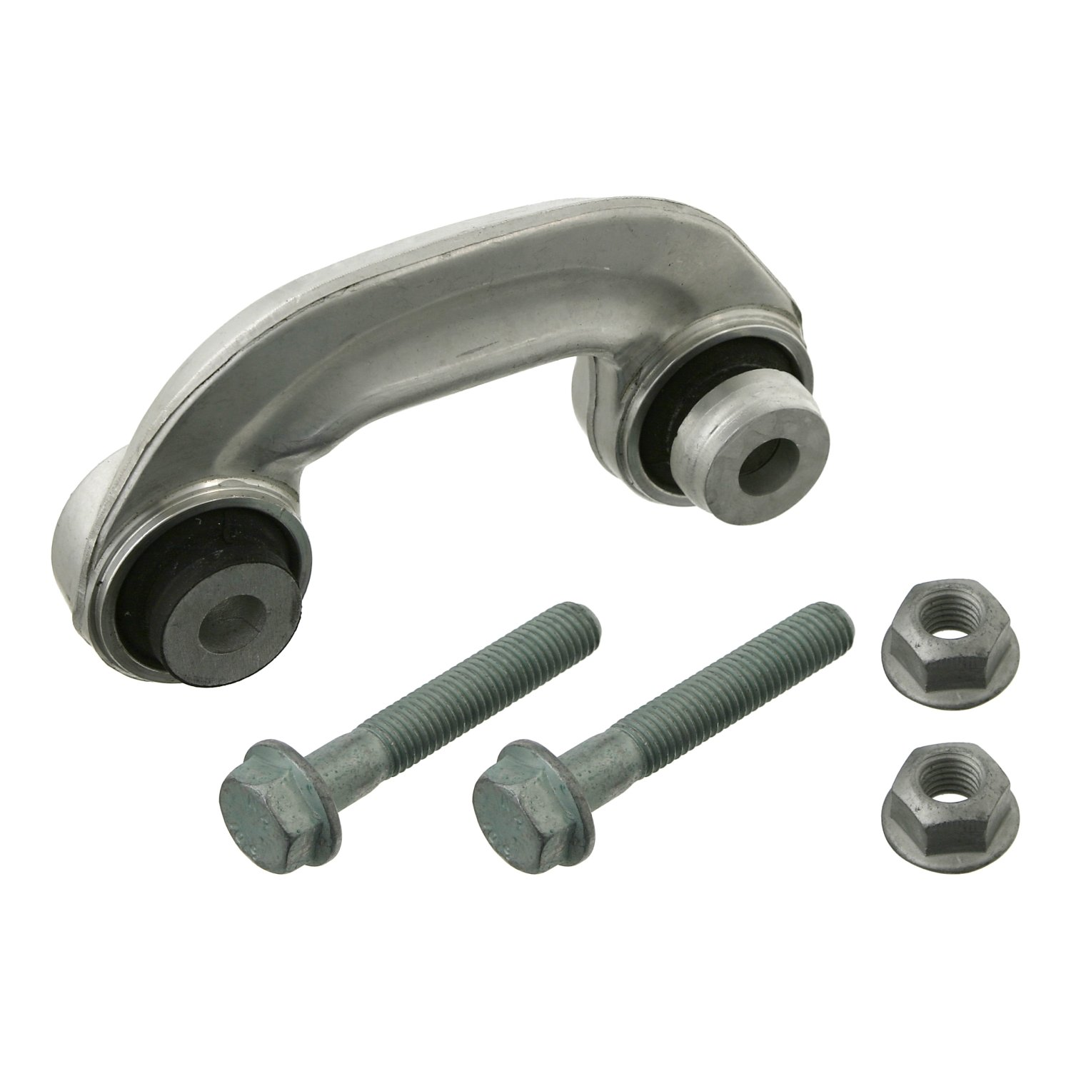 febi bilstein 19702 stabiliser link with screws and nuts (front axle right)  - Pack of 1