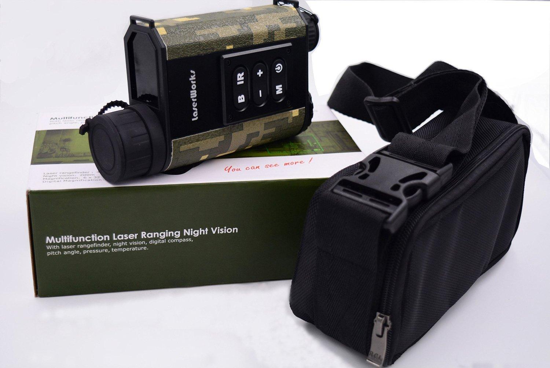 Laser entfernungsmesser mit kompass: pv prüfbox mit laser