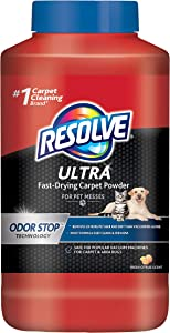 Resolve Resolve Ultra Fast-Drying Carpet Powder for Pet Messes, 18 Ounce