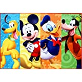 Amazon Com Disney Mickey Mouse Toys Rug Roadster Racer