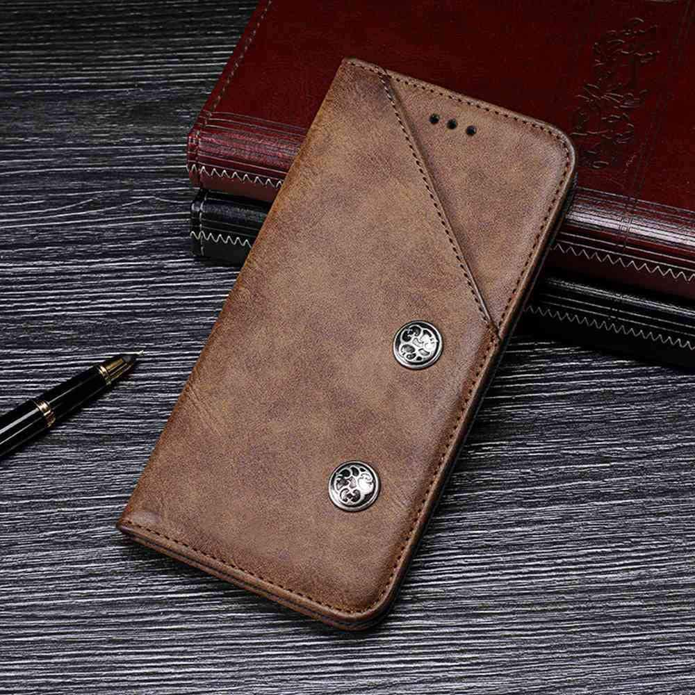 Case for Acer Liquid Z630, Leather Stand Wallet Flip Case Cover for Acer Liquid Z630,Retro Trend Phone Protection Shell,Wallet Phone case with[Cash and Card Slots]