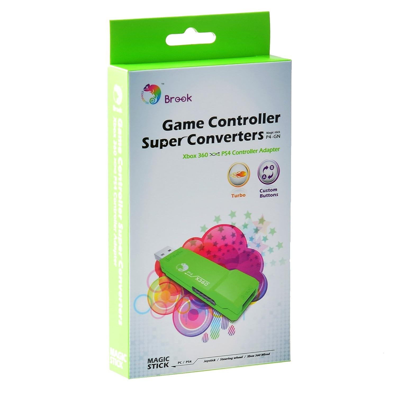 Brook Super Converter Xbox 360 To Ps4 Video Games Wii U Gamepad Wiring Diagram