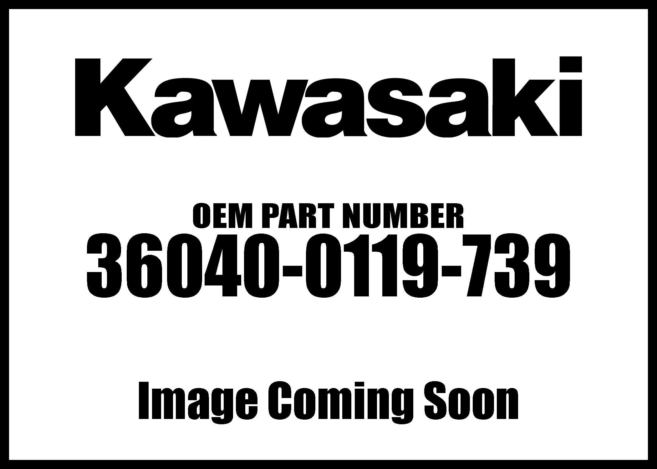 Kawasaki 2013 Ninja 650 Ninja 650 Abs Tail M F S B Lh Cover 36040-0119-739 New Oem