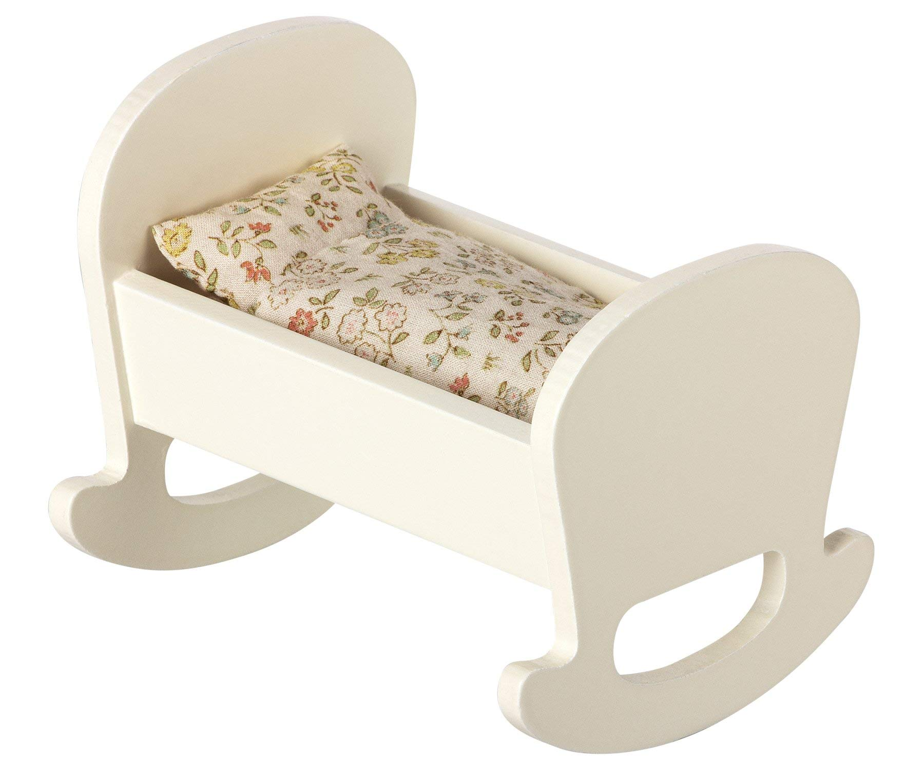 Maileg Wood Cradle for Baby Mouse by Maileg