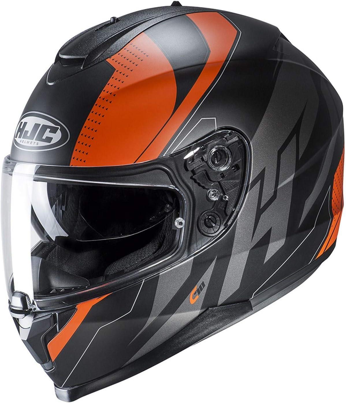 HJC Black C70 Boltas Motorcycle Helmet