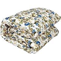 DEILYVERY Microfibre Reversible Double Bed Comforter Dohar (King Size, Multicolour)