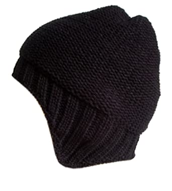 b17358721c0 Frost Hats M-186-BCK BLACK Winter Hat for Men and Teens Chunky Knit ...