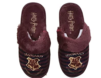 5953f902a5d3 Harry Potter Gryffindor Slippers in a Box (Small(UK 3-4   EUR 36-37 ...