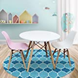 Package: Kids Table and Chairs Package -1 x Round Table 2 x White Pink Chairs