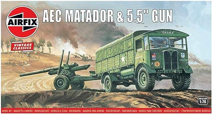 Amazon.com: Airfix Vintage Classics AEC Matador & 5.5