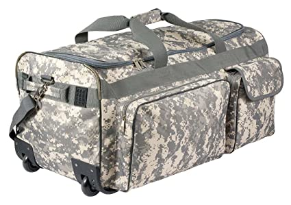 8323138c7d Amazon.com  Rothco Camo 30   Military Expedition Wheeled Bag