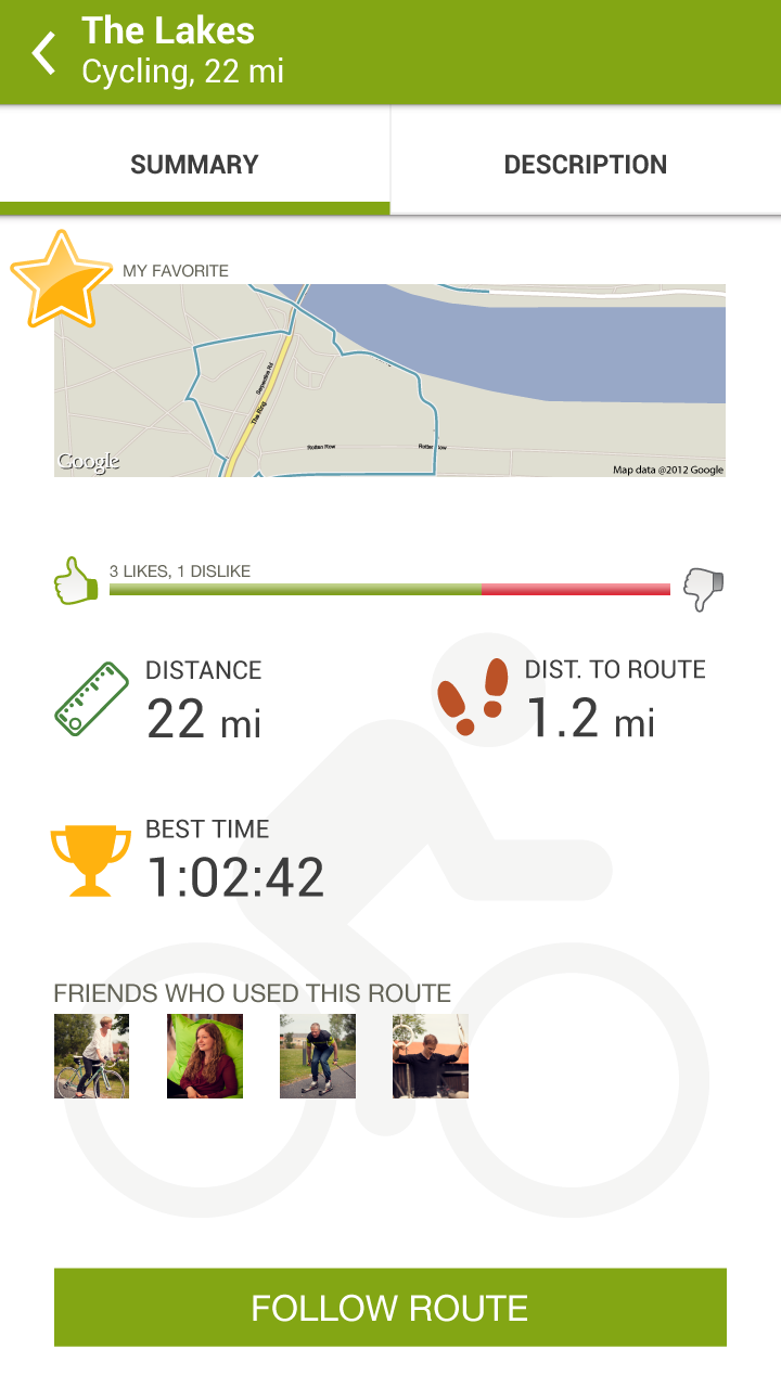 : Endomondo Sports Tracker PRO: Appstore for Android