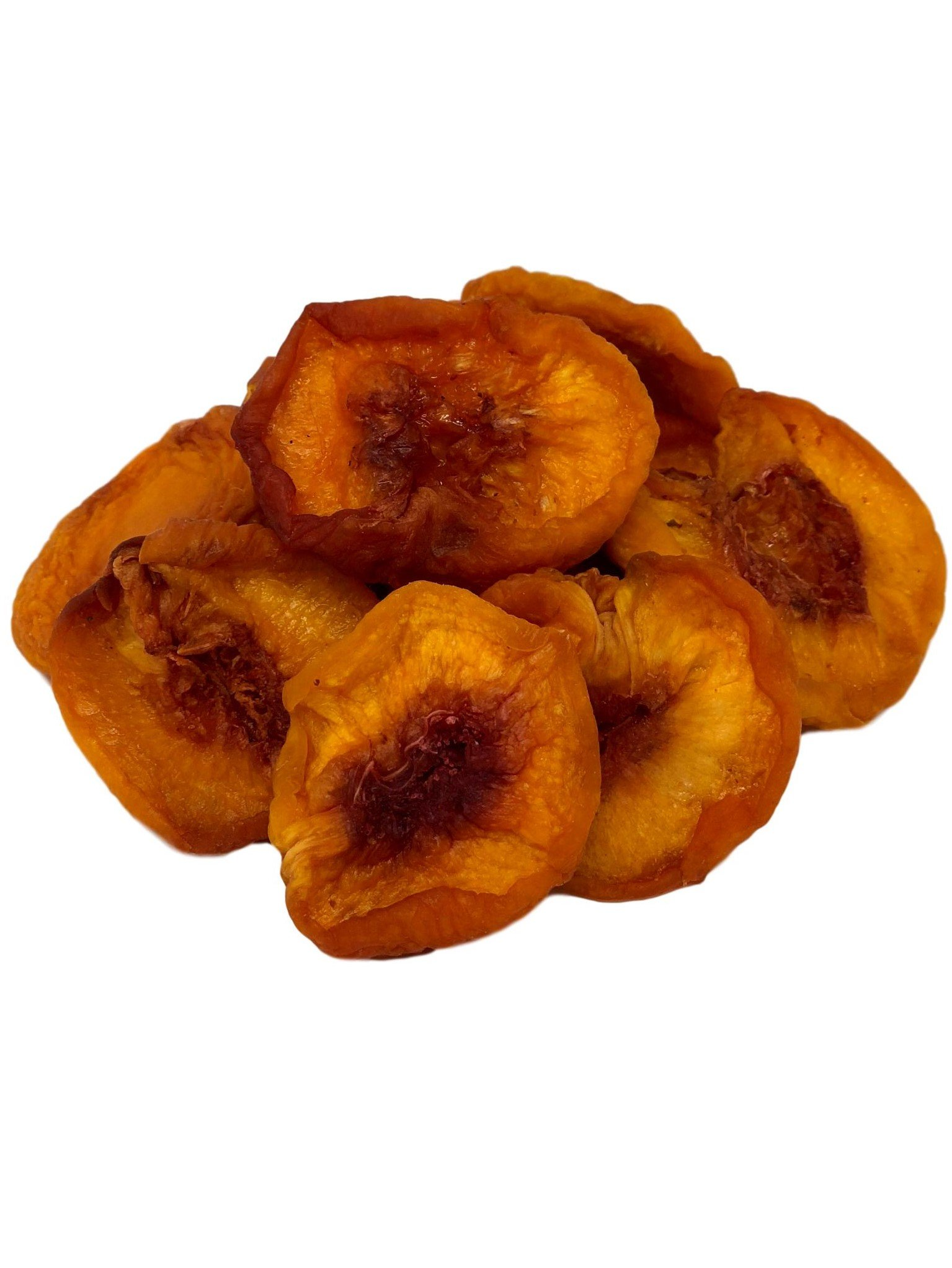 NUTS U.S. - Dried Fancy Peaches, No Added Sugar, Natural!!! (2 LBS)