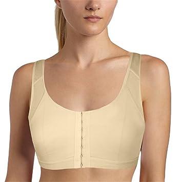 sujetador para mujer, Corrector de Postura para la espalda beige albaricoque L