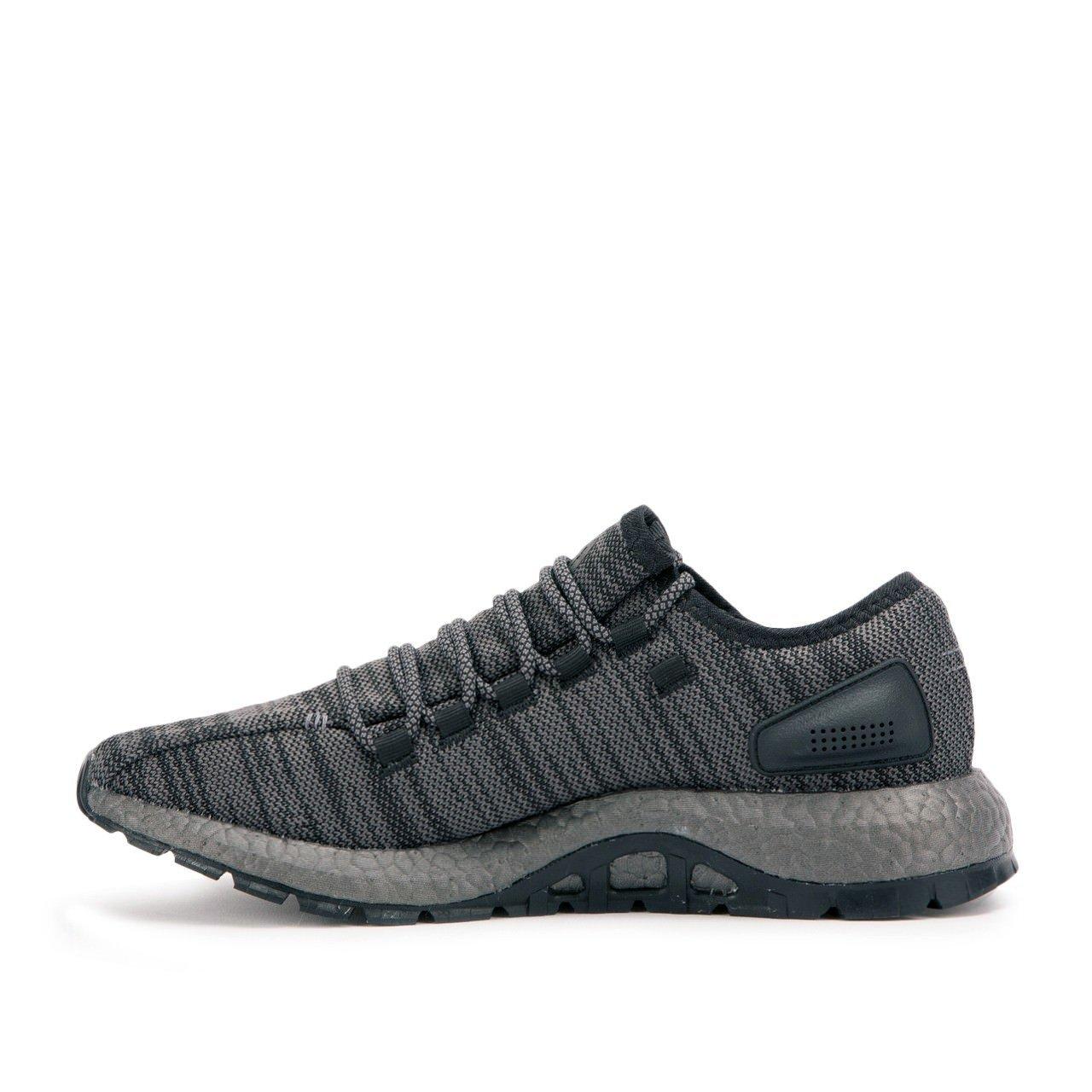 adidas Men's Pureboost ATR Running Shoe B06XWZ6GTD 17 D(M) US|Black/Dgh Solid Grey/Trace Grey/Metallic