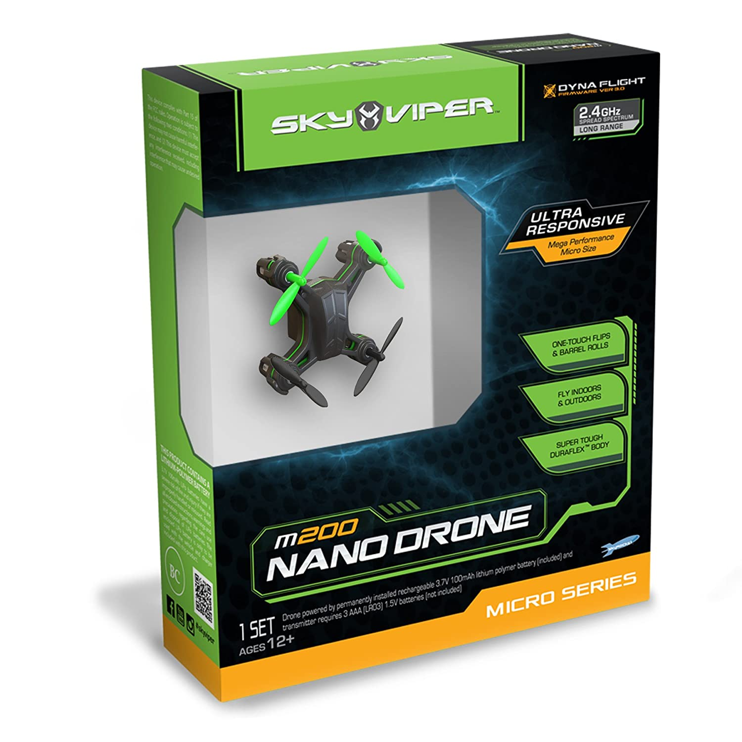 Amazon Sky Viper Nano Drone M200 Vehicle Discontinued By Manufacturer Toys Games