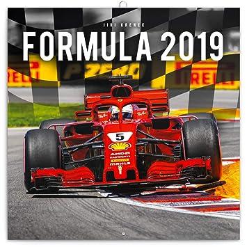 Formule 1 One 2019 Grand Prix De Calendrier Mural Carre 30