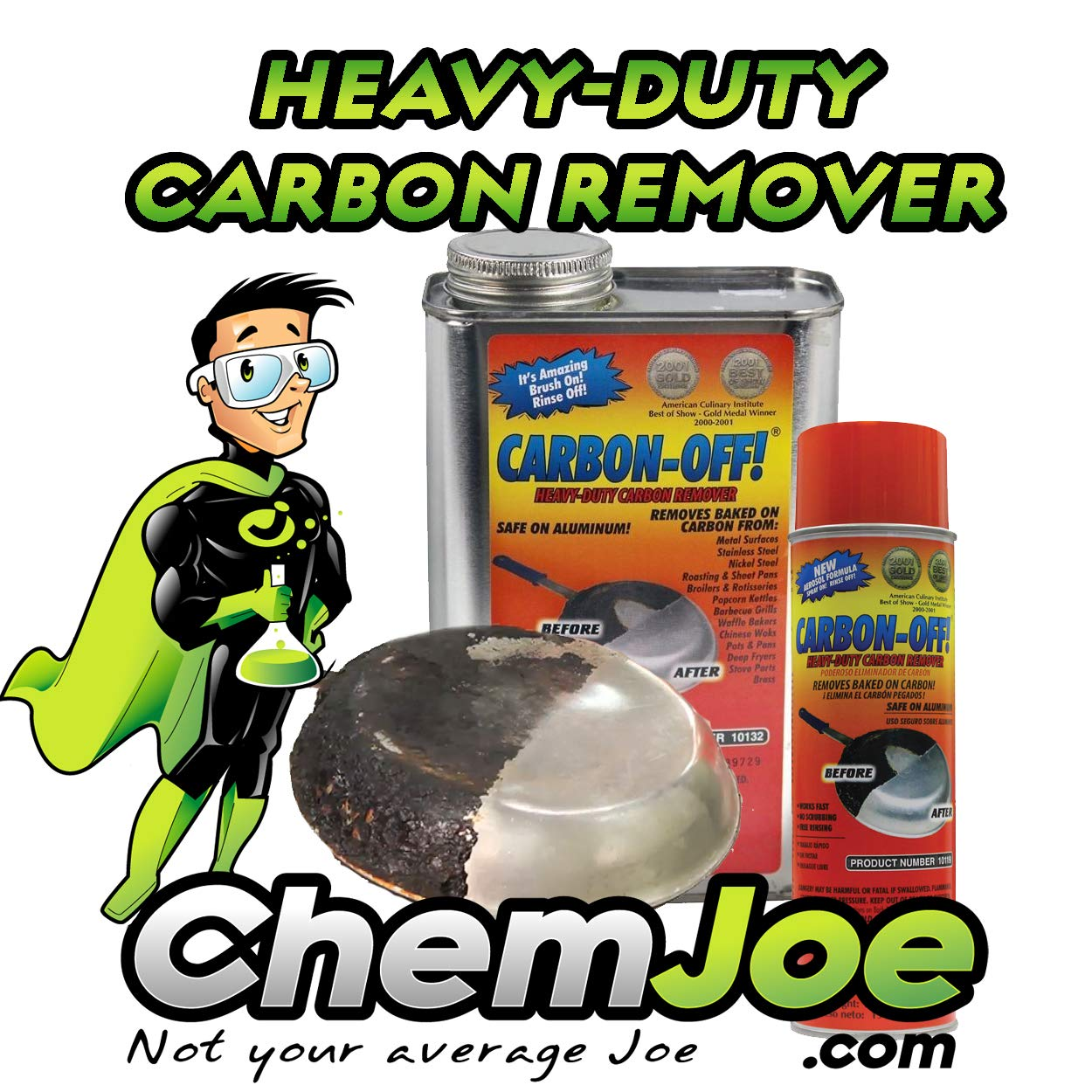 CARBON-OFF! Heavy Duty Carbon Remover -Aerosol 6 pack by CARBON-OFF! (Image #3)