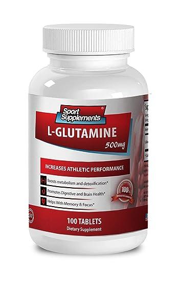 Amazon.com: L Glutamine y Glucosamina – L glutamina 500 mg ...