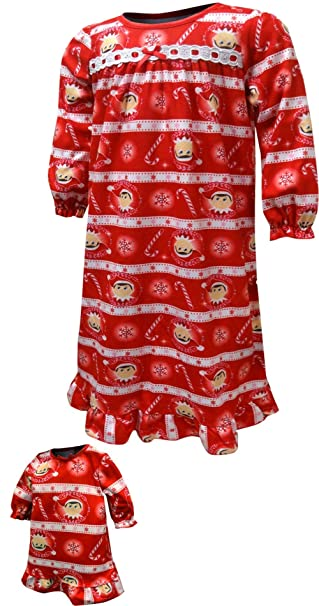 Amazon.com: The Elf on The Shelf Scout Elf Granny Nightgown ...