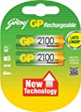 Godrej GP Plastic 2100 NiMH AA GP Rechargeable Battery(Multicolour)