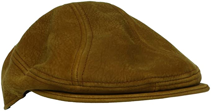 477e59e61875b Stetson Men s Distressed Leather Ivy Hat at Amazon Men s Clothing ...