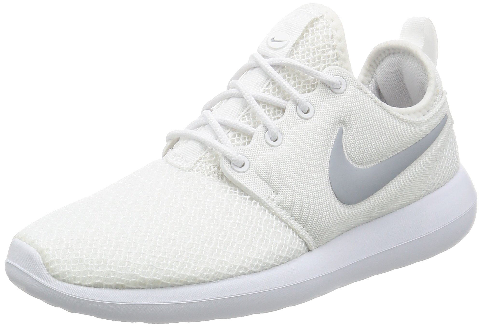 1dedcbd28d15e Galleon - Nike Womens Roshe Two White White Wolf Grey Running Shoe 7 Women  US
