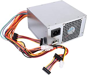 ARLBA 300W Power Supply B300NM-01 New Replacement for Dell Inspiron 3847 570 560 Vostro 400 HP-P3017F3 PS-6301-06D PS-5301-08 G9MTY 0G9MTY L300NM-01 X9GWG Mini Towers MT Systems