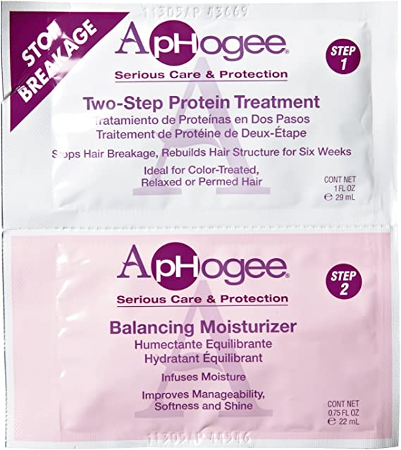Aphogee proteína de 2 pasos Tratamiento 29 ml y Crema ...