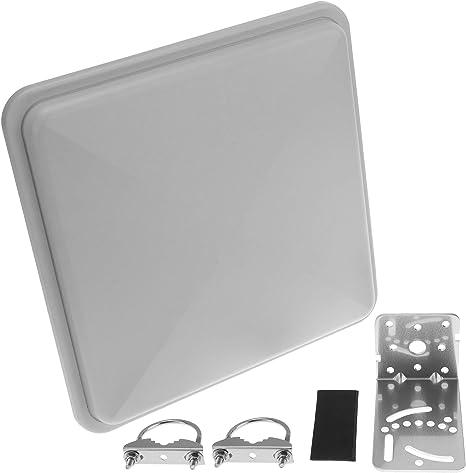 Cablematic - Antena WiFi de panel plano orientable de 2.4 GHz ...