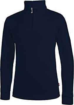 Medico – Camiseta de esquí para, 100% algodón, Manga Larga, Cuello Alto, Cremallera: Amazon.es: Deportes y aire libre