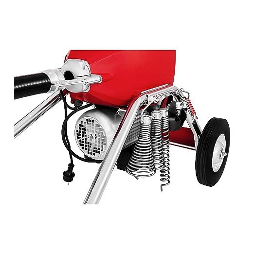 M/áquina desatascadora de tuber/ías 390 W 400 rpm para /Ø 30-100 mm Env/ío Gratuito DRAIN CLEAN 2.3E MSW