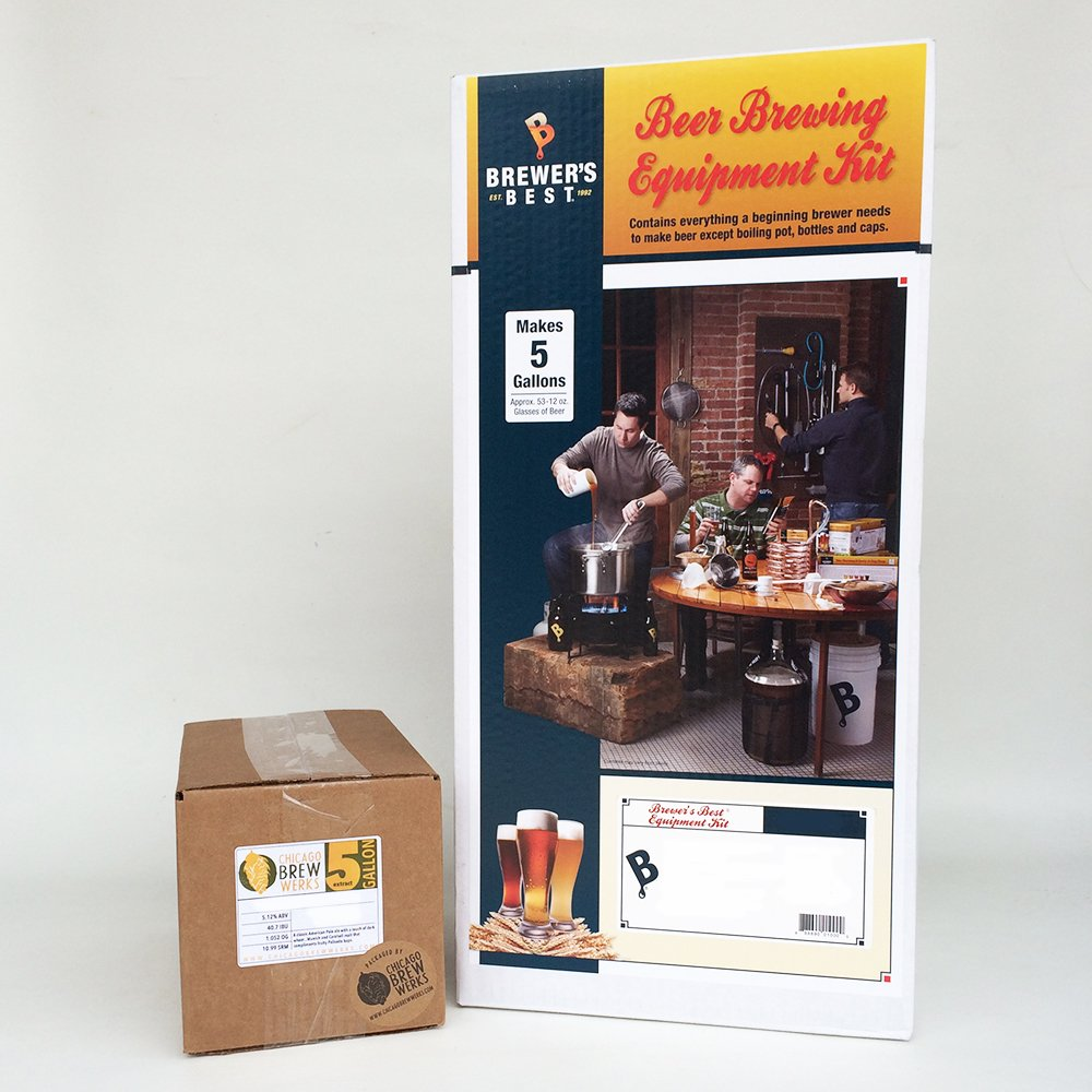 Brewer's BeAst Equipment Kit with Chicago Brew Werks 5 Gallon Ingredient Kit: Oats Made Me Do It