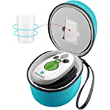 GWCASE Travel Case Compatible with Steamfast SF-717/ IIMII/SMAGREHO/Mini Steam Iron Fits for Measure Cup (Box Only)