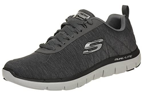 Color rosa Para un día de viaje fiabilidad  Buy Skechers Men's Flex Advantage 2.0 Chillston Trainer Charcoal at  Amazon.in