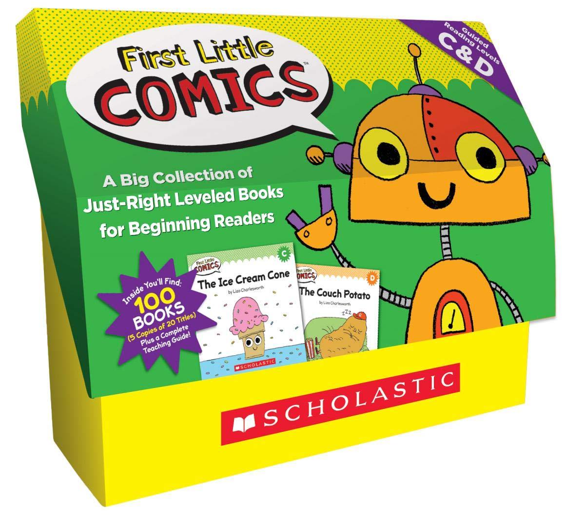 Amazon Com First Little Comics Classroom Set Levels C D
