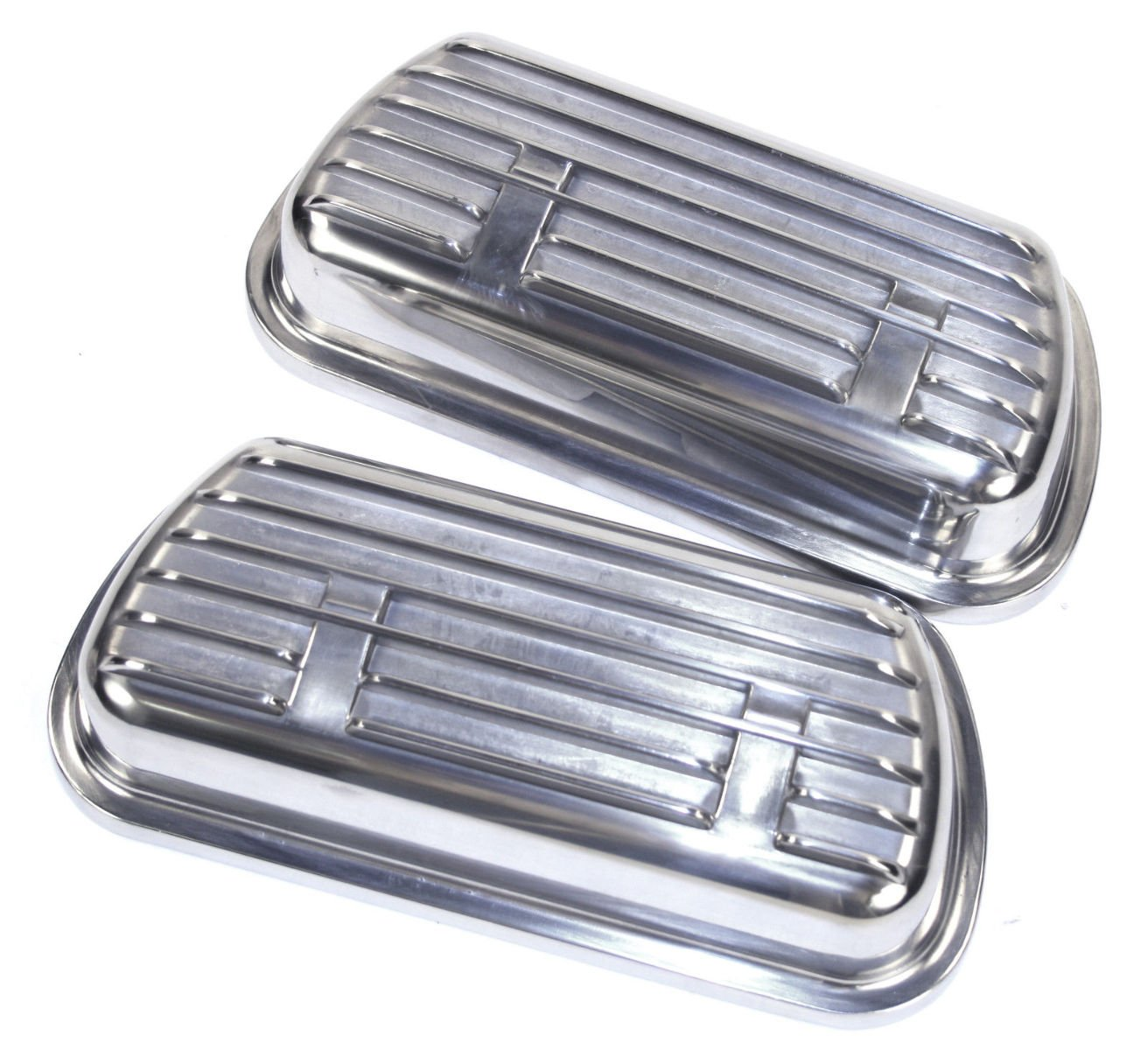 2 /& 3 Clip-On Aluminum Valve Cover Set Empi 00-9138-0 VW Type 1