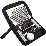 BETOOLL Tire Repair Kit 22 Pcs for Car, Motorcycle, ATV, Jeep, Truck, Tractor Flat Tire Puncture Repair
