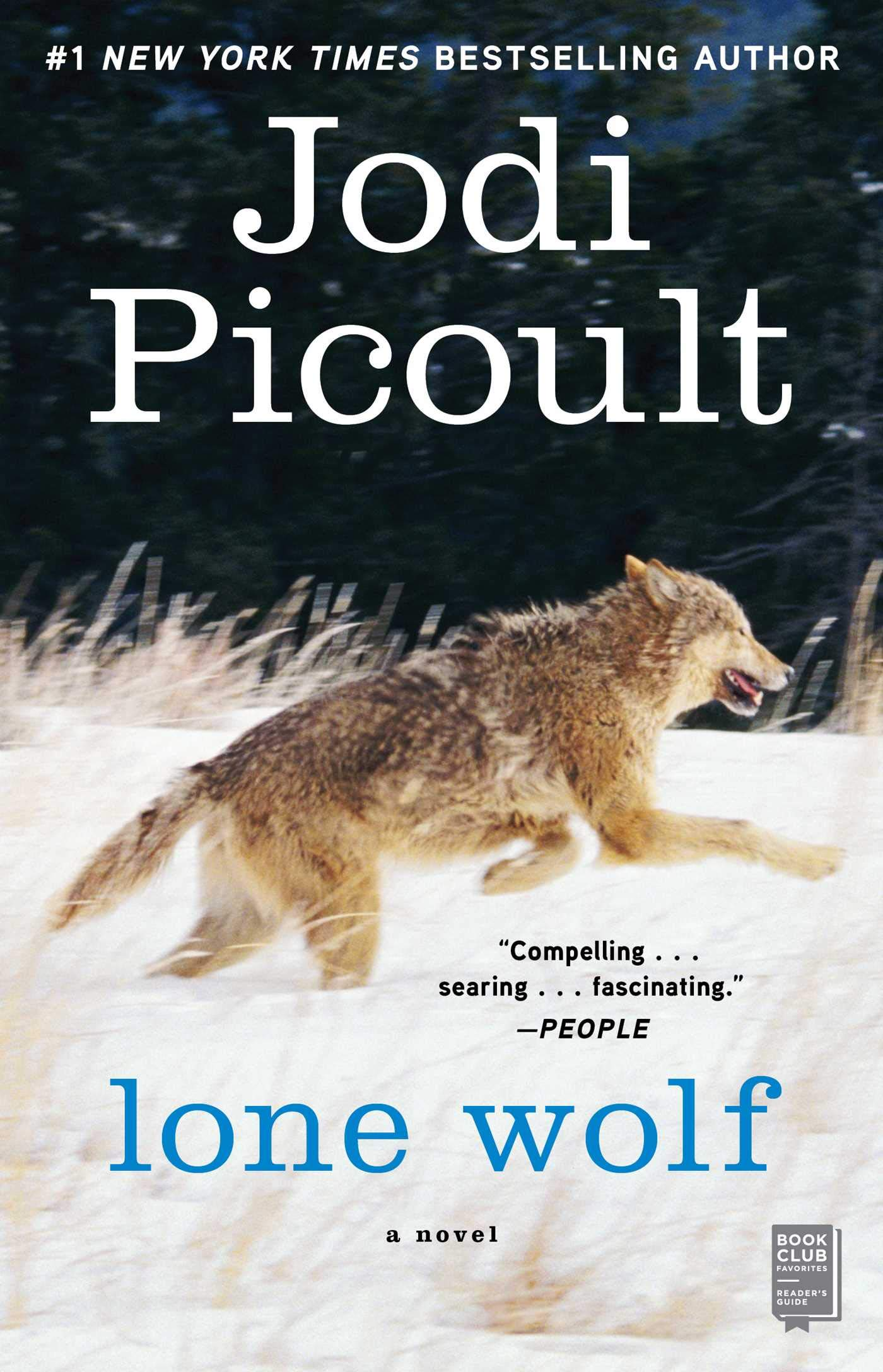 Lone Wolf Packaging May Vary Picoult Jodi 8601200571868 Books