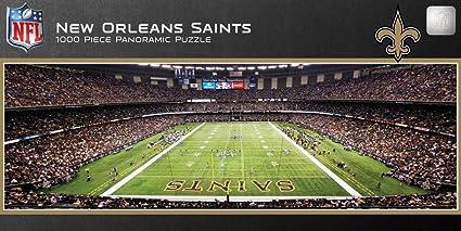 Amazon Com New Orleans Saints Nfl 1000 Piece Stadium
