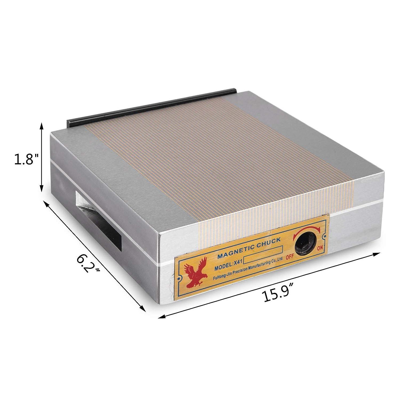Succebuy 5500lb Magn/étique Lifter 1000 kg Aimant De Levage N 42-45 Magnet Main Control/é 2500 kg Serrage Aimant