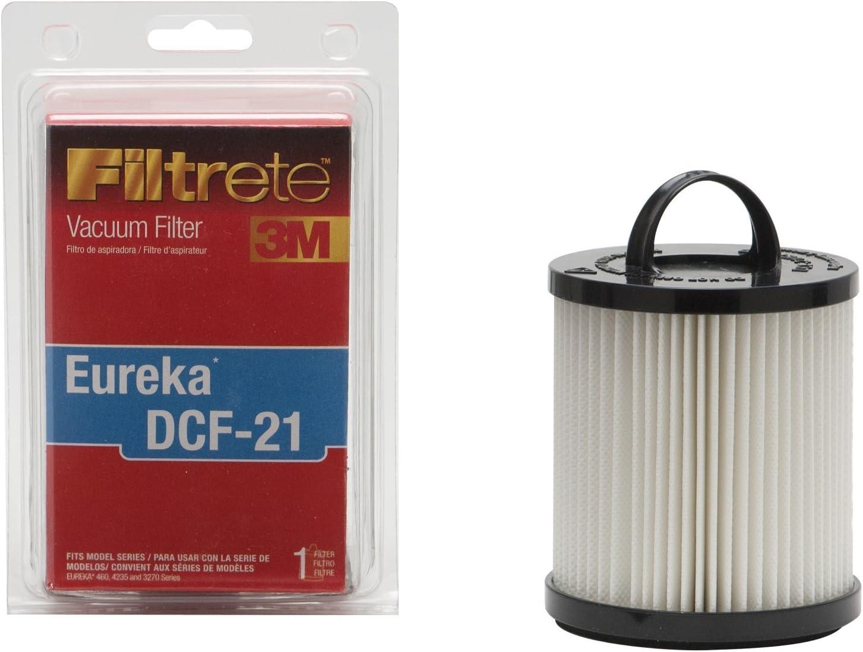 1 3M Eureka DCF-21 Allergen Vacuum Filter Red Renewed