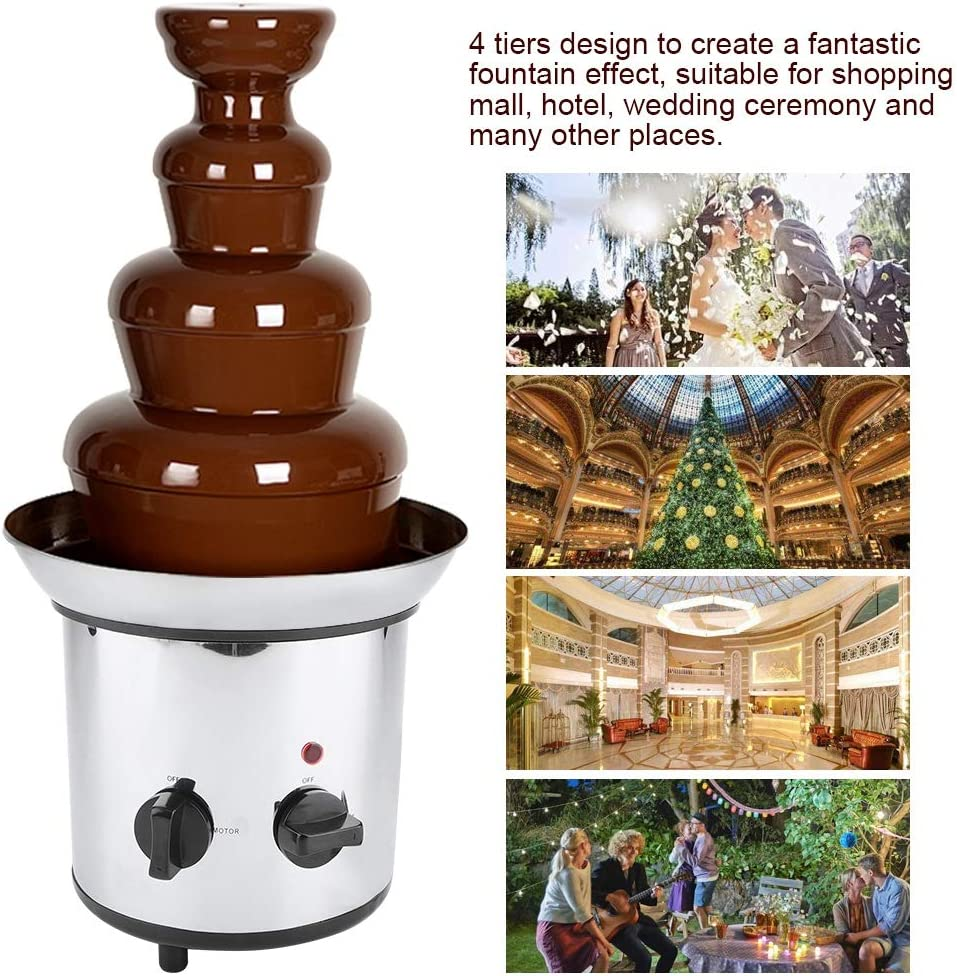 Fromage Bonbons Beurre Caramel Rose Dalimentation Pratique Fusion De Chocolat Warming /À Fondue Chaud Faire Fondre Le Chocolat Machine /Électrique Pour Le Chocolat Fondants