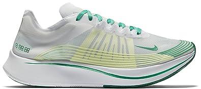 2b207fdd13f7e Nike Mens NikeLab Zoom Fly SP Hong Kong White-Lucid Green SZ 10  AJ9282