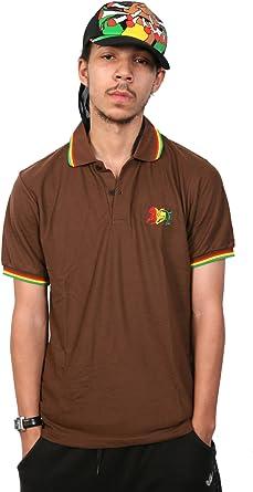 rasta4real Rasta Leon de Judah CAMISA POLO - XL: Amazon.es: Ropa y ...